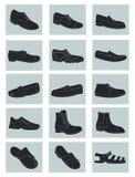De schoenen van mensen vector illustratie