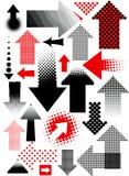 Reeks pijlen vector illustratie