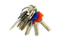 Reeks sleutels Stock Afbeeldingen