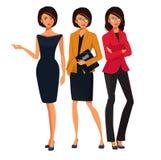 Reeks succesvolle bedrijfsvrouwen Groep 002 van DiRago Stock Fotografie