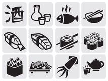Reeks sushi Stock Afbeeldingen