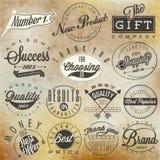 Reeks symbolen voor Beste Kwaliteit Stock Afbeelding