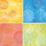 Reeks texturen Royalty-vrije Stock Afbeelding