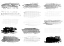 Reeks Uitstekende Abstracte Halftone Achtergronden Royalty-vrije Stock Foto