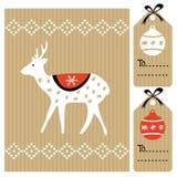 Reeks uitstekende etiketten van de de herfstdaling, markeringen, stickers, Stock Foto's