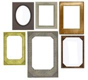 Reeks uitstekende frames Royalty-vrije Stock Fotografie