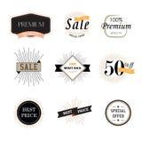 Reeks uitstekende stickers van de premiekwaliteit Royalty-vrije Stock Afbeelding