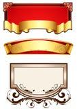 Reeks van 3 banners Royalty-vrije Stock Afbeelding