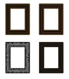 Reeks van 4 Frames Royalty-vrije Stock Foto