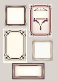 Reeks van 5 frames Royalty-vrije Stock Fotografie