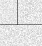 Reeks van Abstract Gray Technology Pixel Backgrounds, het grijze patroon van het bedrijfstechnologiepixel Stock Illustratie