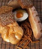 Reeks van brood Stock Afbeelding