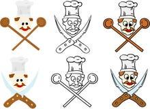 Reeks van chef-kok Royalty-vrije Stock Foto