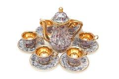 Reeks van chinaware royalty-vrije stock fotografie