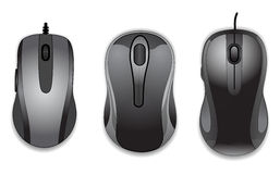 De muis van de computer Stock Foto's
