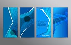 Reeks van de verticale lay-out background12 van de Webbanner vector illustratie