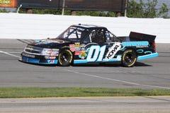 Reeks van de Vrachtwagen NASCAR van Joe Aramendia 01 de Kwalificerende Stock Foto