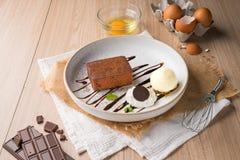 Reeks van Dessert royalty-vrije stock afbeeldingen