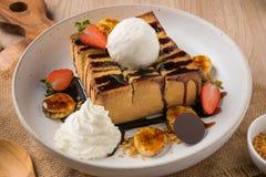 Reeks van Dessert royalty-vrije stock fotografie