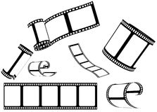 Reeks van film/fotofilm Royalty-vrije Stock Afbeelding