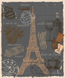 Reeks van Frankrijk Royalty-vrije Stock Fotografie