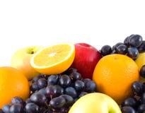 Reeks van fruit Royalty-vrije Stock Afbeelding