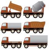 Reeks van gespecialiseerd vervoer Stock Afbeelding