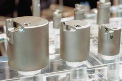Reeks van het boring van hoofden voor moderne CNC werktuigmachines stock foto's