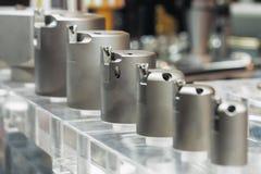 Reeks van het boring van hoofden voor moderne CNC werktuigmachines stock afbeelding