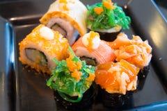 Reeks van Japans voedsel royalty-vrije stock afbeeldingen