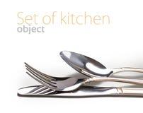 Reeks van keukenvoorwerp Royalty-vrije Stock Afbeelding
