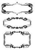 Reeks van klassiek frame Royalty-vrije Stock Afbeelding
