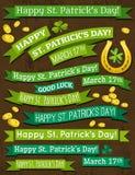 Reeks van lint voor St. Patricks Dag, vector Royalty-vrije Stock Afbeeldingen