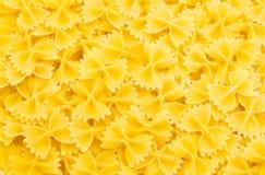 Reeks van macaroni Stock Foto