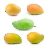 Reeks van Mango Royalty-vrije Stock Foto