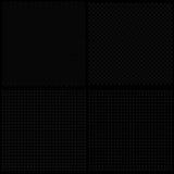 Reeks van metaaltextuur met gaten Stock Foto