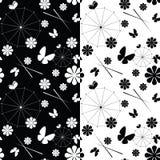 Reeks van naadloos patroon Royalty-vrije Stock Afbeelding