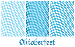 Reeks van Oktoberfest ontwerpachtergrond Stock Foto