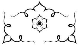 Reeks van origineel ontwerpelement royalty-vrije illustratie
