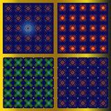Reeks van patronen vector illustratie