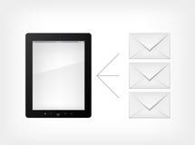 Reeks van PC van de Tablet Royalty-vrije Stock Fotografie