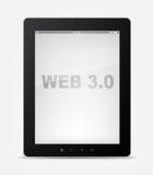 Reeks van PC van de Tablet Stock Foto's