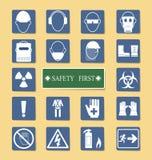 Reeks van Persoonlijk Beschermingsmateriaal (PPE) Royalty-vrije Stock Fotografie