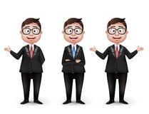 Reeks van Realistische Slimme Verschillende Beroeps vector illustratie