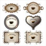 Reeks van retro etiketten uitstekend ontwerp Royalty-vrije Stock Afbeelding