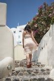 Reeks van Santorini Griekenland Royalty-vrije Stock Foto's