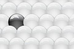 Reeks van schone glanzende bal. Abstracte achtergrond Royalty-vrije Stock Afbeeldingen