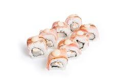 Reeks van sushimaki Stock Afbeeldingen
