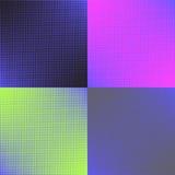 Reeks van vier achtergrondkleur Stock Afbeelding