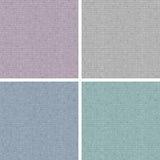Reeks van vier texturen van Jersey Stock Foto